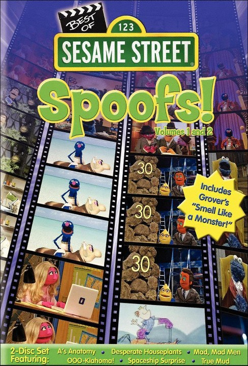 Sesame Street: The Best of Sesame Spoofs, Vol. 1 & Vol. 2 (dvd_video) - image 1 of 1