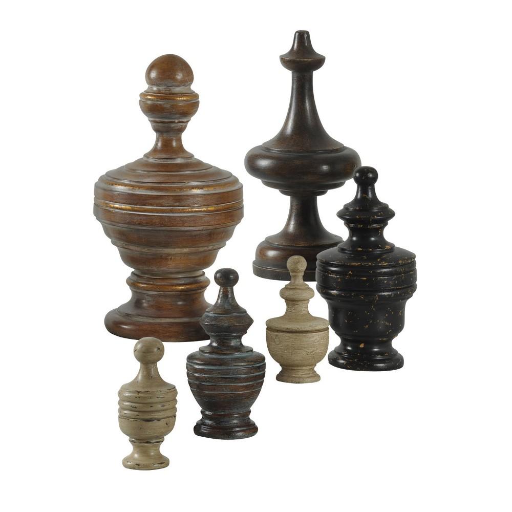 Image of Decorative Accent Set - Brown / Black / Beige