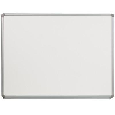 Flash Furniture 4' W x 3' H Porcelain Magnetic Marker Board