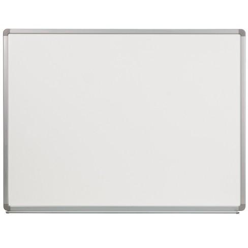 Flash Furniture 4' W x 3' H Porcelain Magnetic Marker Board - image 1 of 1