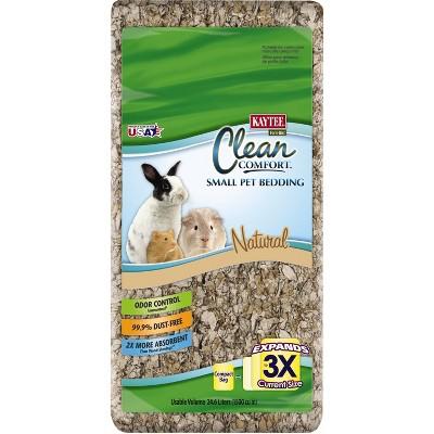 Kaytee Clean Comfort Small Pet Bedding Natural - 24.6L