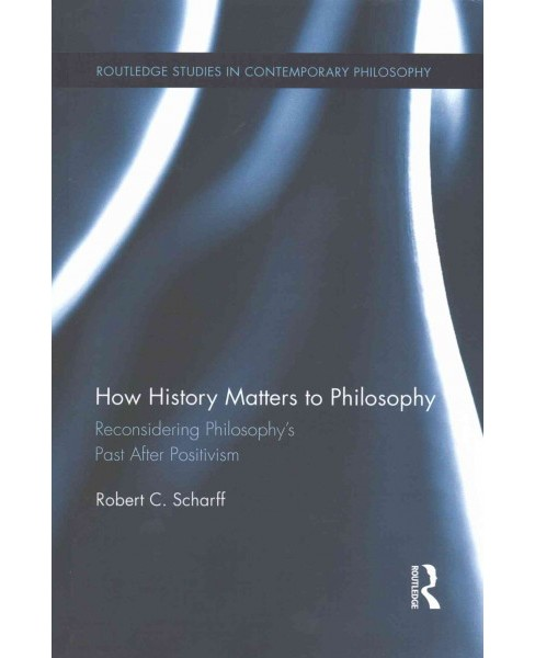 How History Matters to Philosophy : Reconsidering Philosophy's Past After Positivism (Reprint) - image 1 of 1