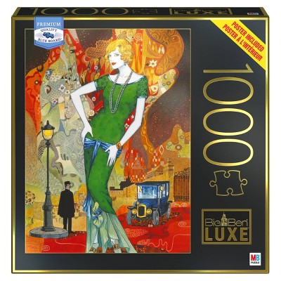 Milton Bradley Big Ben Luxe: An Evening on the Town Jigsaw Puzzle - 1000pc