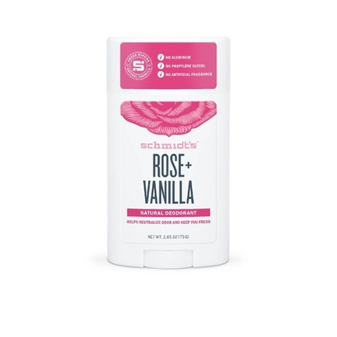 Schmidt's Rose + Vanilla Natural Deodorant - 2.65oz - image 1 of 4