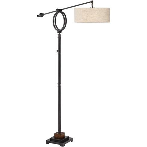 Henley Adjustable Boom Arm Floor Lamp, Boom Arm Floor Lamp