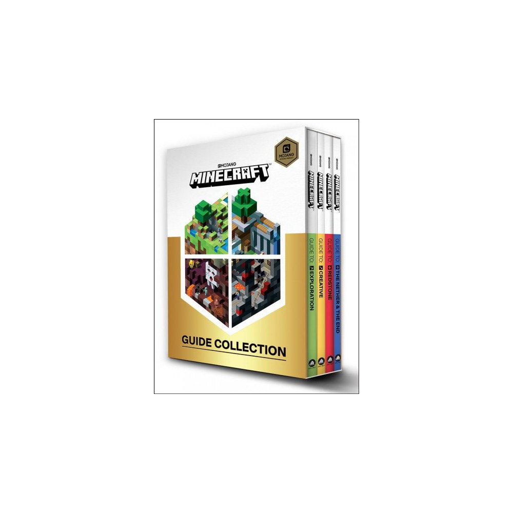 Minecraft Guide Set : Exploration; Creative; Redstone; the Nether & the End - (Paperback)