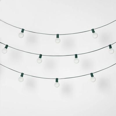 20ct Christmas Incandescent G40 String Lights - Wondershop™
