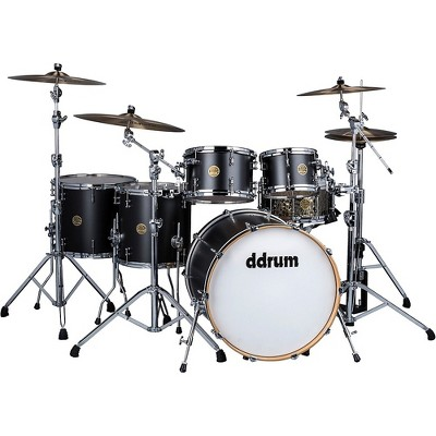 ddrum Dios 5-Piece Shell Pack Black Satin