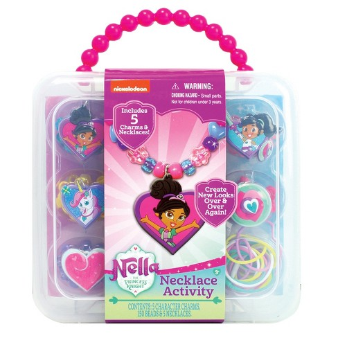 Nickelodeon Nella the Princess Knight Necklace Activity Set - image 1 of 2