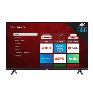 "TCL 50"" Roku 4K UHD HDR Smart TV (50S425)"