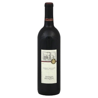 Baron Herzog Wine Cellars Cabernet Sauvignon Red Wine - 750ml Bottle