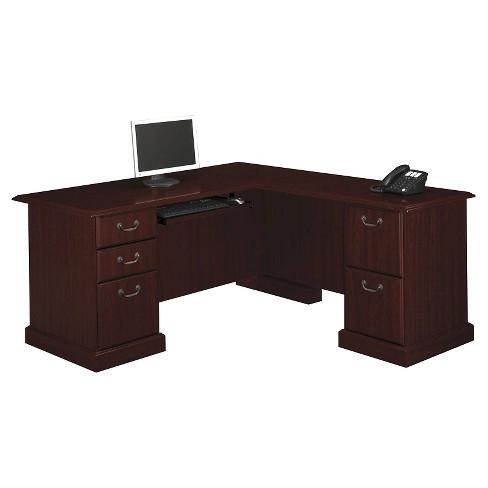 Bennington L Desk From Kathy Ireland Office By Bush Business Furniture