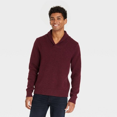 Men's Regular Fit Collared Pullover Sweater - Goodfellow & Co™
