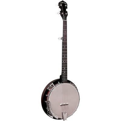 Gold Tone CC-BG Cripple Creek Left-Handed Banjo Bluegrass Starter Pack Vintage Brown
