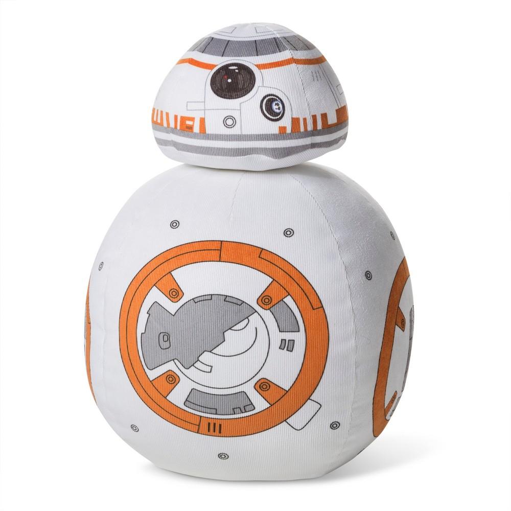 Star Wars BB-8 Orange and White Throw Pillow