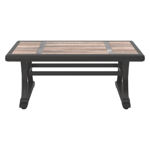 Marsh Creek Rectangular Cocktail Table - Brown  - Outdoor by Ashley - image 1 of 4