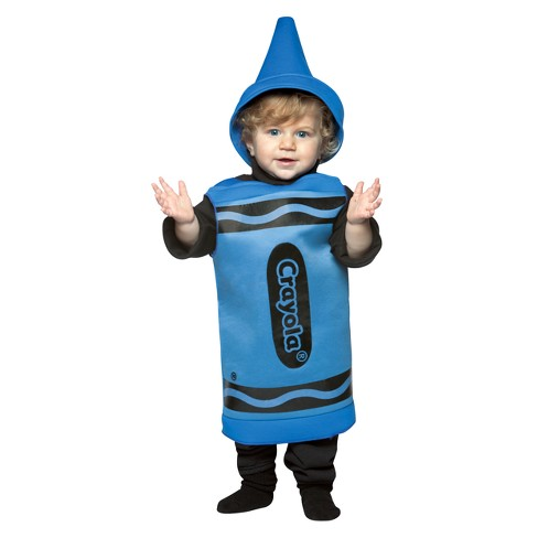 Crayola Baby Crayon Costume Blue 18-24M - image 1 of 1