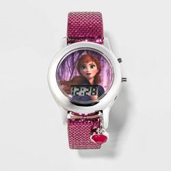 Girls' Disney Frozen Anna Watch - Purple