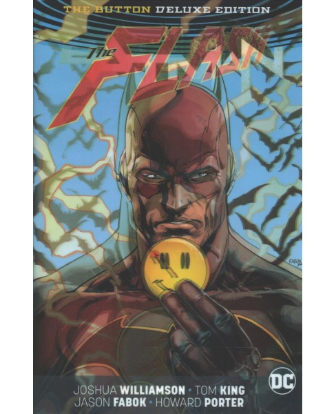 Batman/The Flash : The Button (Deluxe) (Hardcover) (Joshua Williamson & Tom King) - image 1 of 1