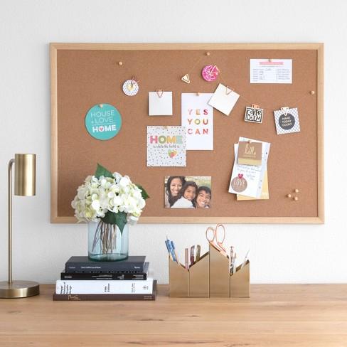 Ubrands Wood Frame Bulletin Board 23 X 35 Target