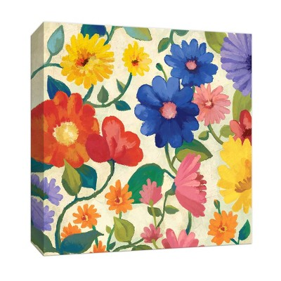 Sweet Flowers Gallery Wrapped Canvas - PTM Images