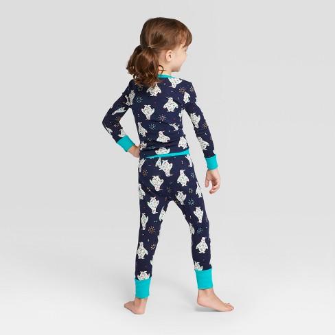 Toddler Holiday Animals Pajama Set - Wondershop™ Navy 2T   Target 466845d83