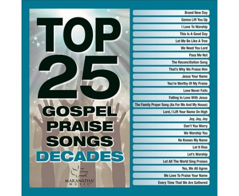 Various - Top 25 Gospel Praise Decades (CD) - image 1 of 1