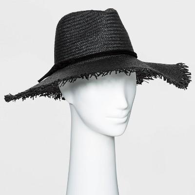 Women's Straw Rancher Hat - Universal Thread™ - Black