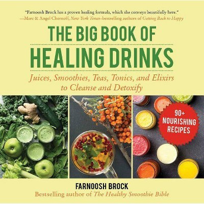 The Big Book of Healing Drinks - by  Farnoosh Brock (Hardcover)