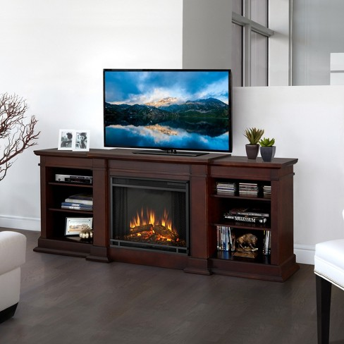 Real Flame - Fresno Entertainment Electric Fireplace - image 1 of 6