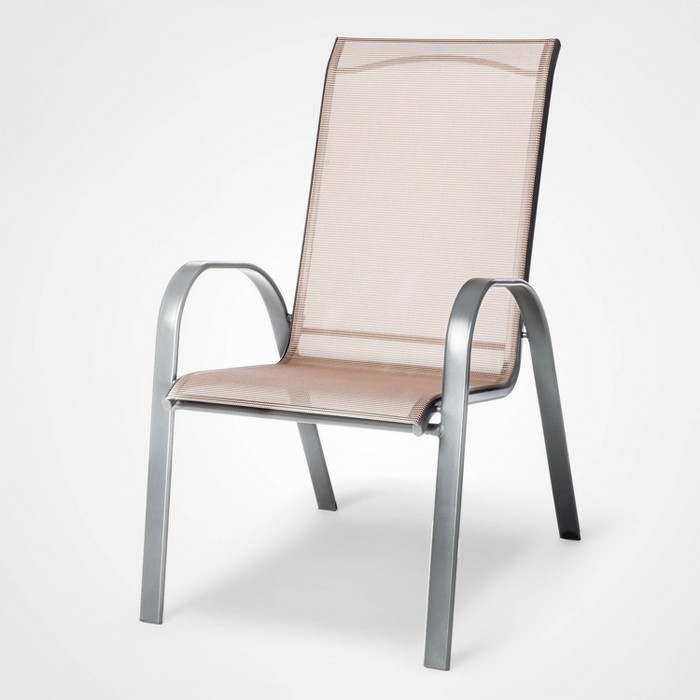 Sling Stacking Patio Chair - Threshold™ - image 1 of 4