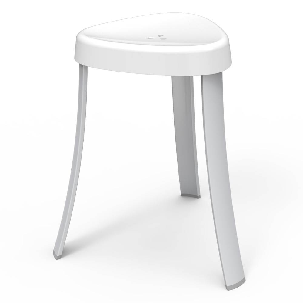 Image of The Spa Seat Shower Stool - Better Living Products, White