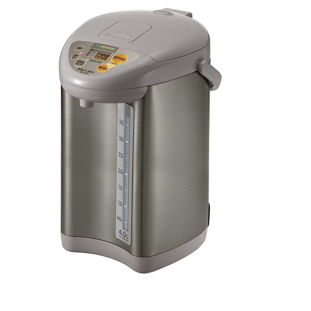 Micom Water Boiler & Warmer, 135oz, Silver Grey 52434382
