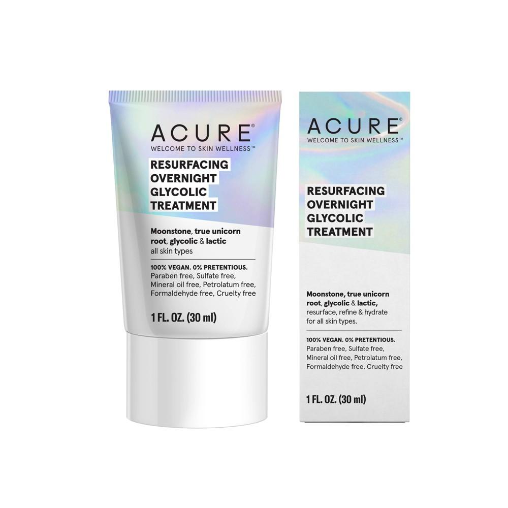Image of Acure Resurfacing Overnight Glycolic Treatment - 1 fl oz