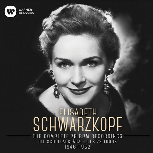 Elisabe Schwarzkopf - Complete 78 Rpm Recordings (CD) - image 1 of 1