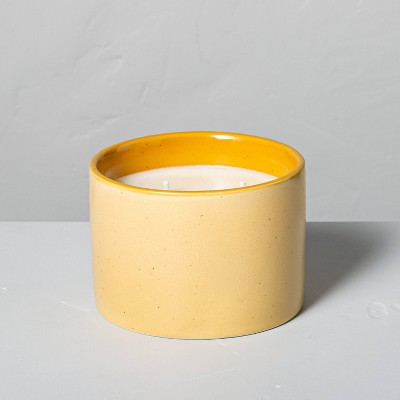 10.8oz Golden Hour Two-Tone 2-Wick Ceramic Seasonal Candle - Hearth & Hand™ with Magnolia