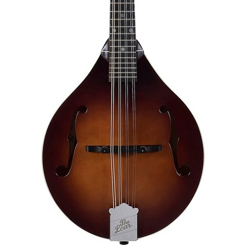 The Loar LM-110 Hand-Carved A-Style Mandolin Vintage Brown - image 1 of 4