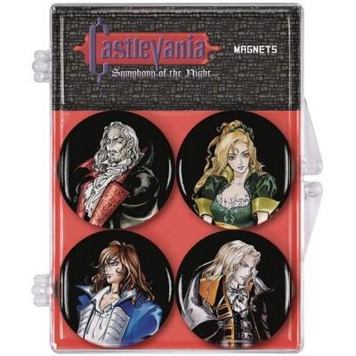 Dark Horse Comics Castlevania Symphony of the Night Magnet 4-Pack