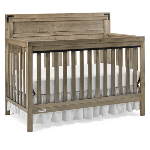 Fisher-Price Paxton 4-in-1 Convertible Crib - Vintage Gray - image 1 of 4