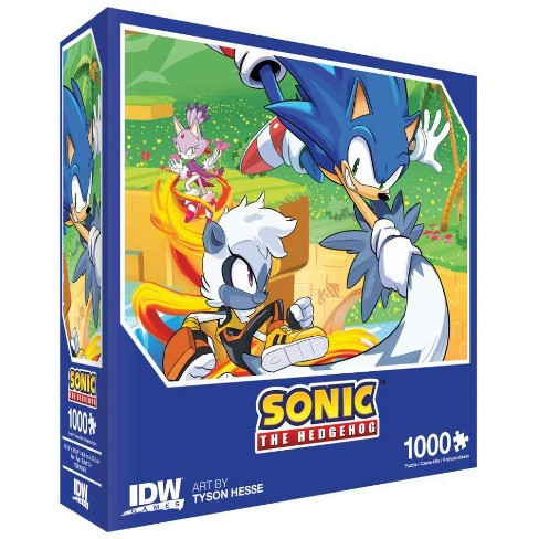 Sonice the Hedgehog - Too Slow! Premium Puzzle Board Game - image 1 of 1