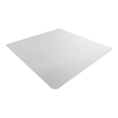 """3'10""""x5' Rectangle Solid Office Chair Mat Clear - Staples : Target"""