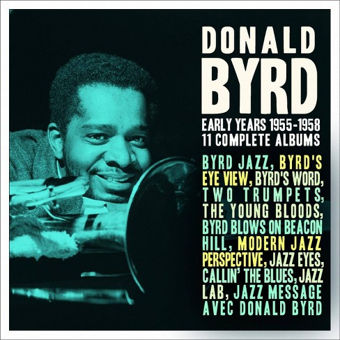 Donald Byrd - Donald Byrd: Early Years: 1955-1958 (CD) - image 1 of 1