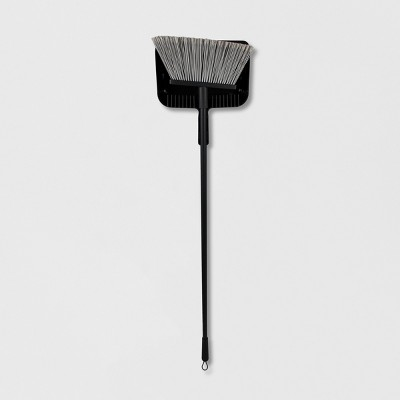 Floor Broom with Clip-on Dust Pan Set - Made By Design™