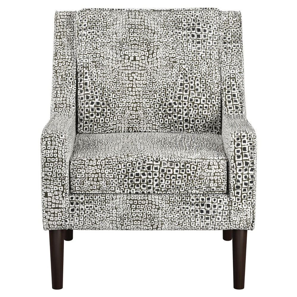 Shyba Button Arm Chair Cloth 38 Company