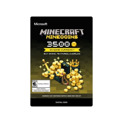 Minecraft: Minecoins 3500 Coins - Xbox One (Digital)