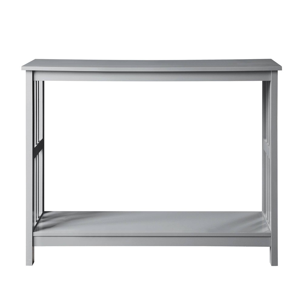 Mission Console Table Gray - Johar Furniture Mission Console Table Gray - Johar Furniture
