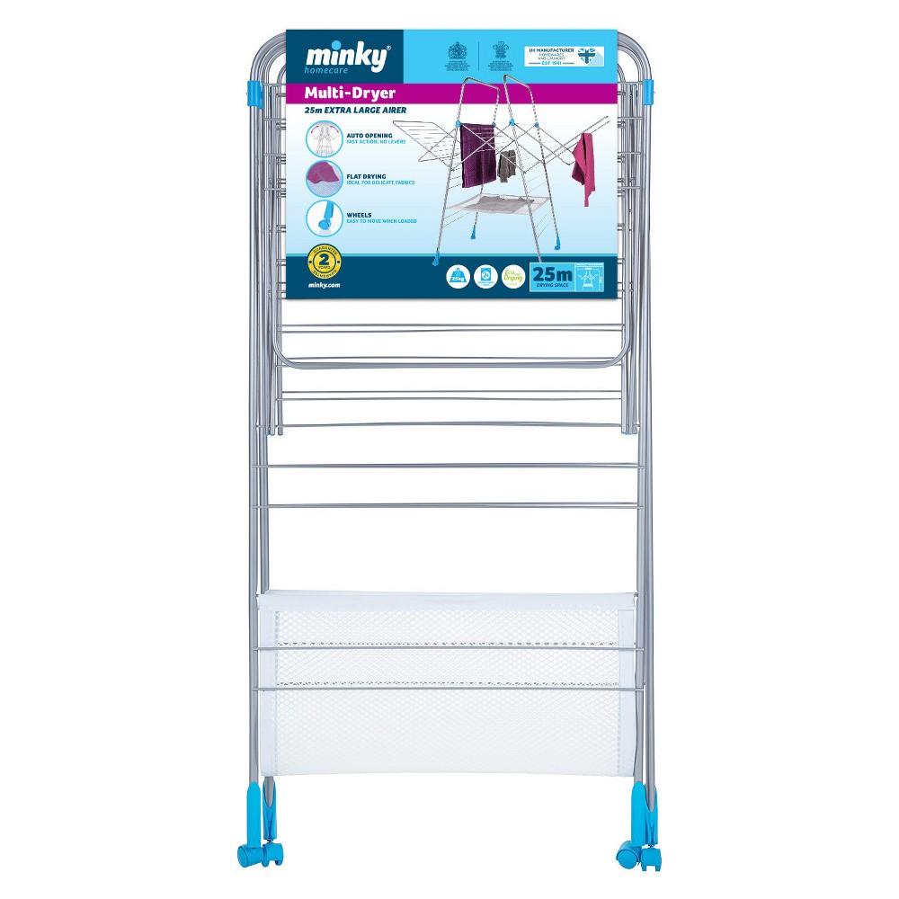 Image of Minky Multi Dryer Indoor Drying Rack, Silver