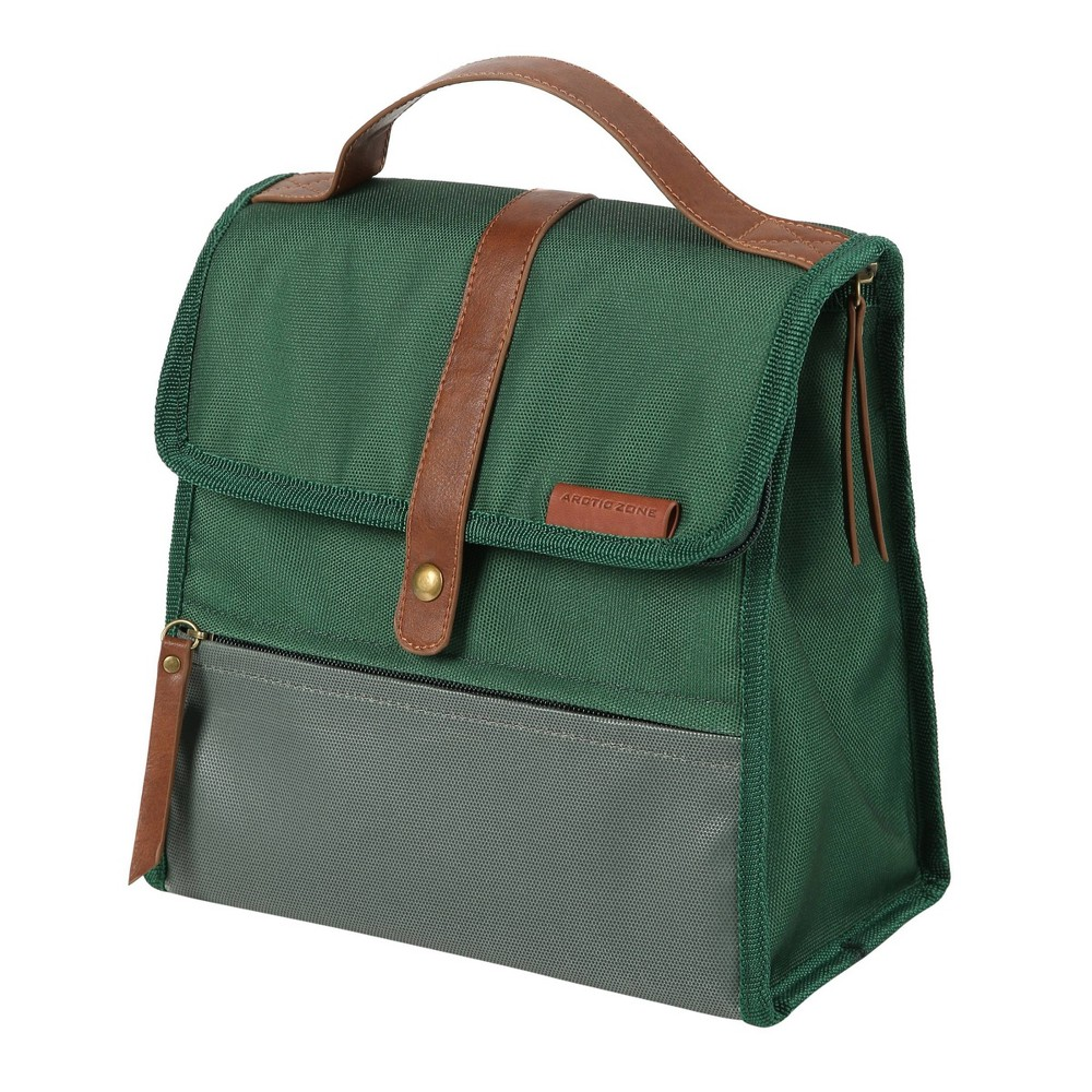 Image of Arctic Zone Canvas Collection Lunch Sack - Forest