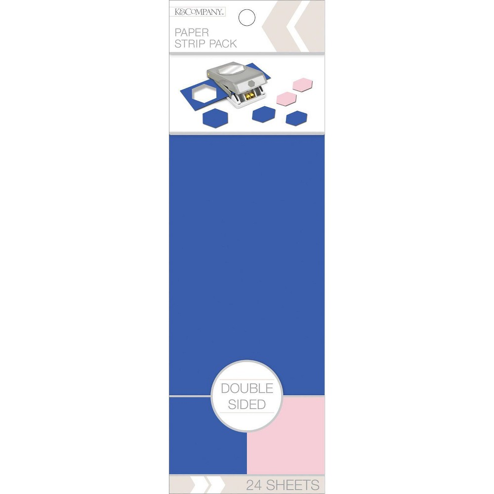 Image of K&Company Double Sided Paper Stripe Pack