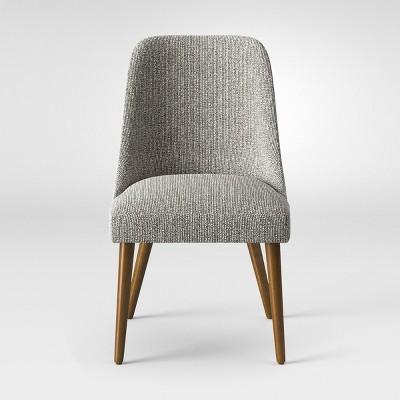 Geller Mid Century Modern Dining Chair Black/White   Project 62™